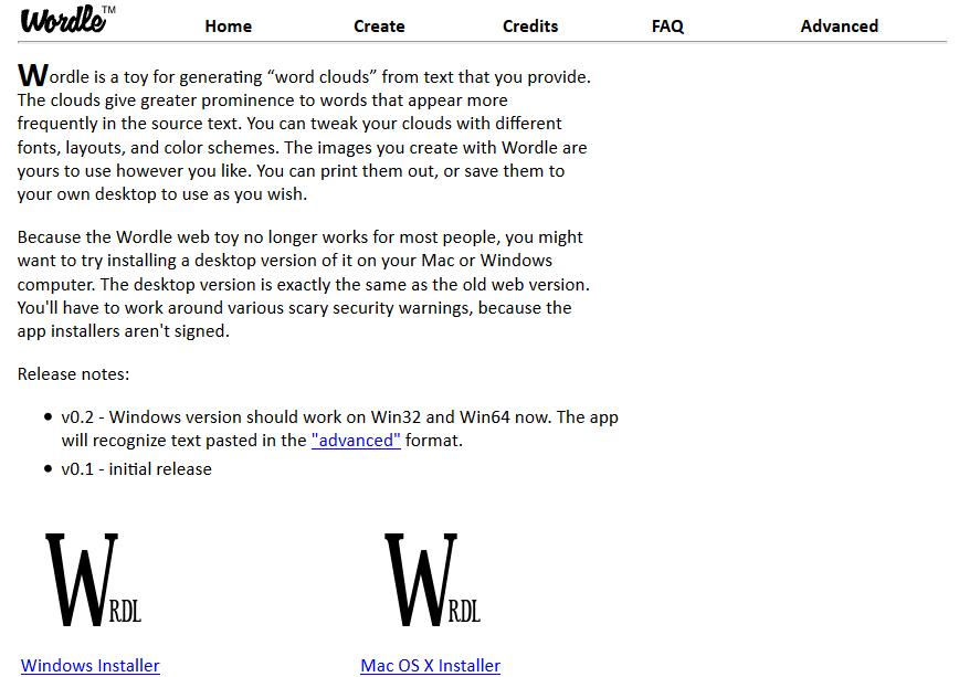 Programas de marketing de contenidos: Wordle