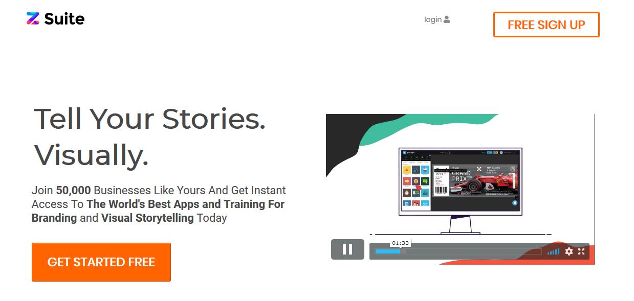 Programas de marketing de contenidos: Zsuite