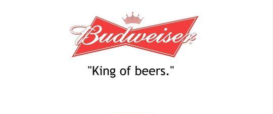 Ejemplo de slogans creativos: Budweiser