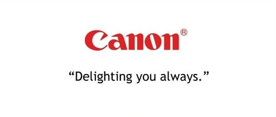 Ejemplo de slogans famosos: Canon