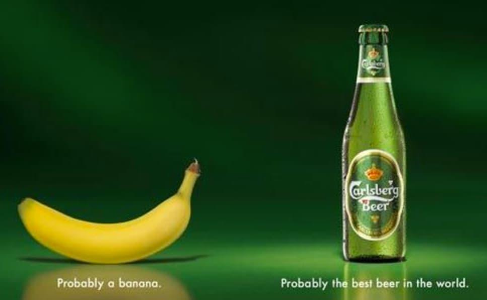 Ejemplo de slogans creativos: Carlsberg