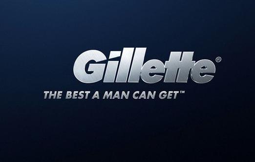 Ejemplo de slogans famosos: Gillette