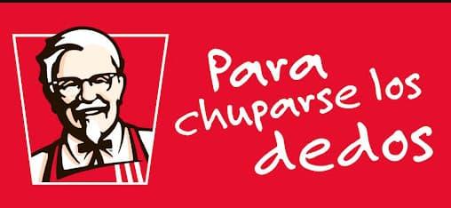 Ejemplo de slogans famosos: KFC