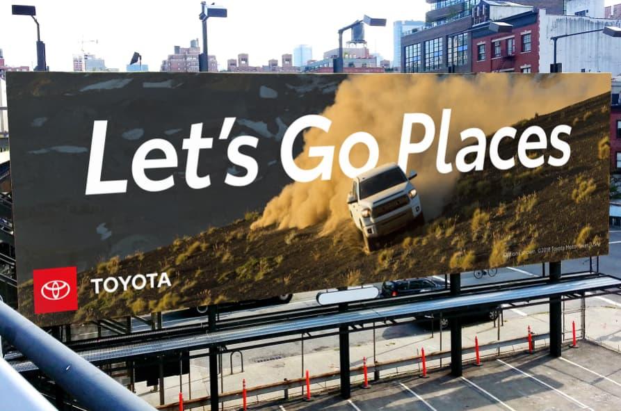 Ejemplo de slogans creativos: Toyota