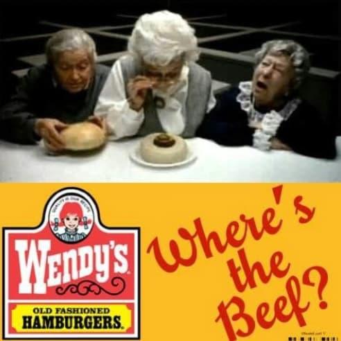Ejemplo de slogans famosos: Wendy's