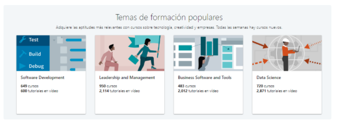 Plataformas educativas de marketing: LinkedIn Learning