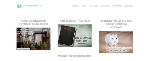 Samurái Financiero, blog con nombre creativo