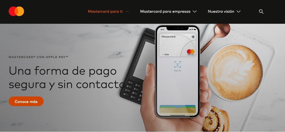 Ejemplo de co-branding de Mastercard