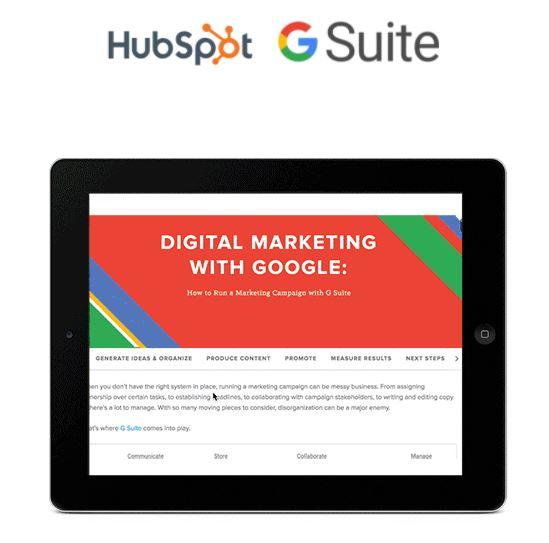 Cómo hacer co-marketing: colaboración de HubSpot y G Suite