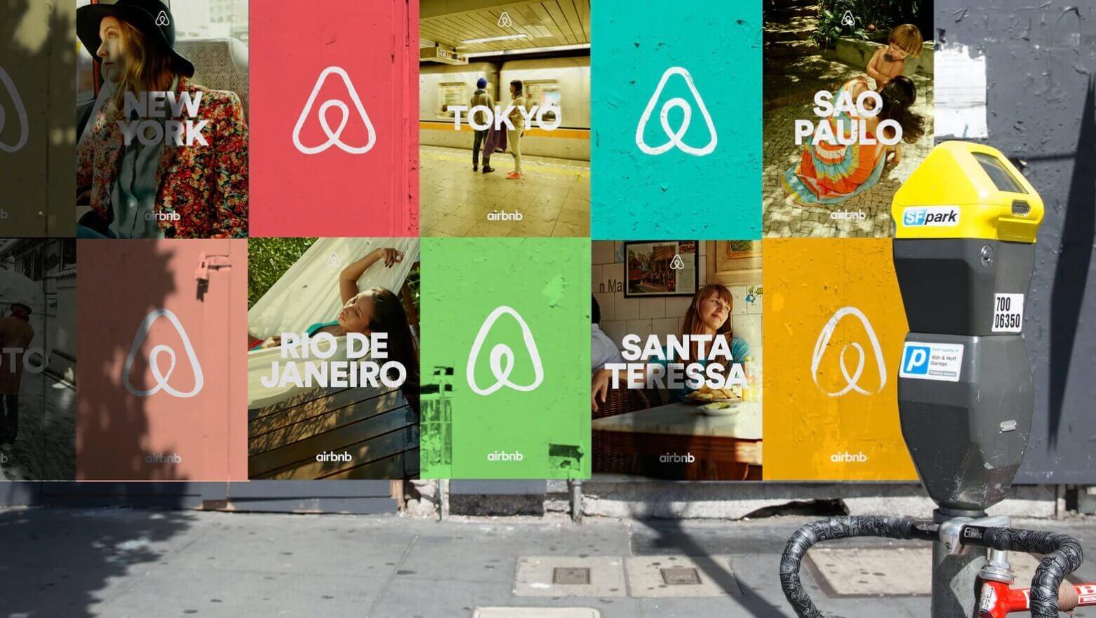 Ejemplo de identidad de marca: Airbnb