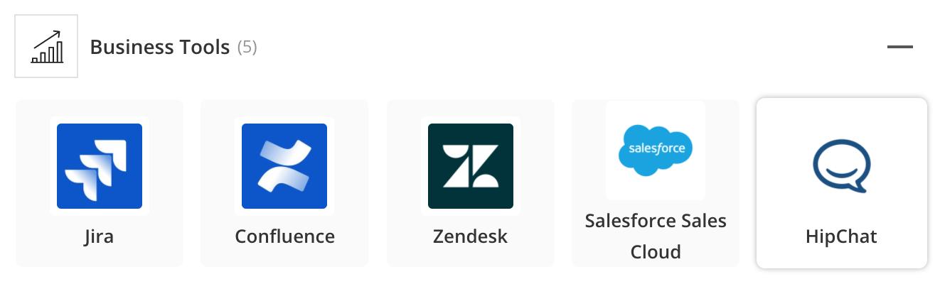 Pila de aplicaciones de marketing y ventas de Zillow