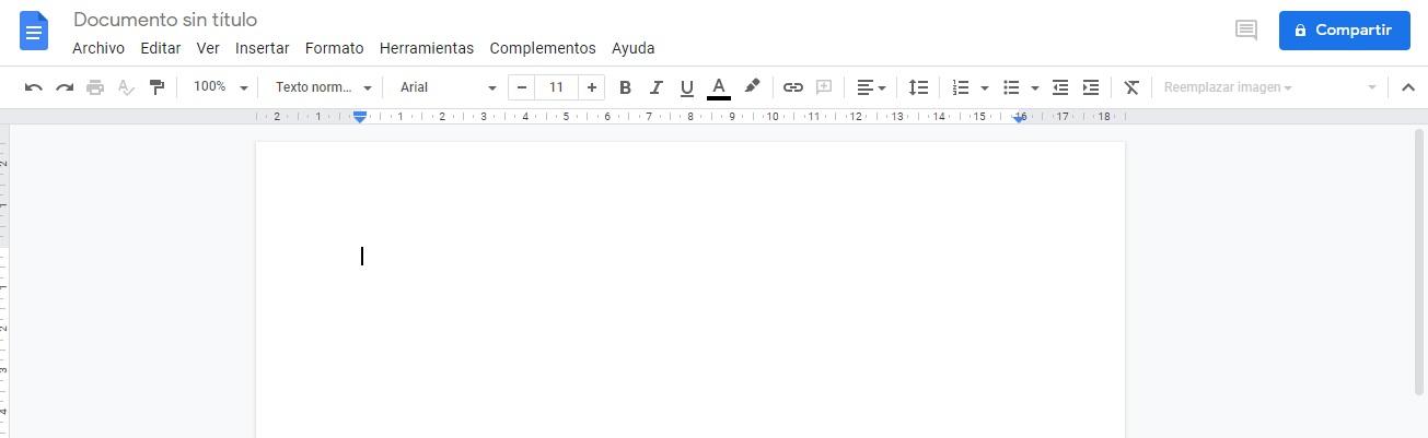Programas de marketing de contenidos: Google Docs