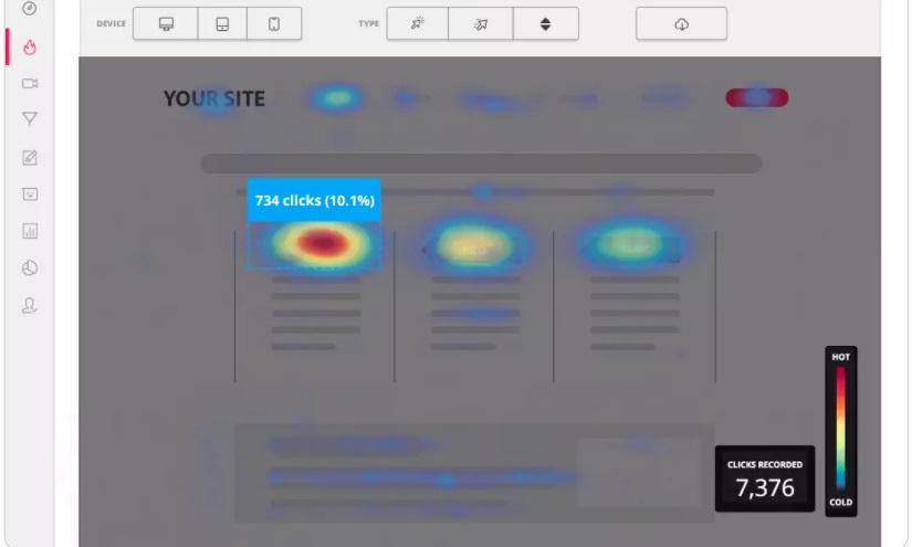 Programas para marketing de contenidos: HotJar