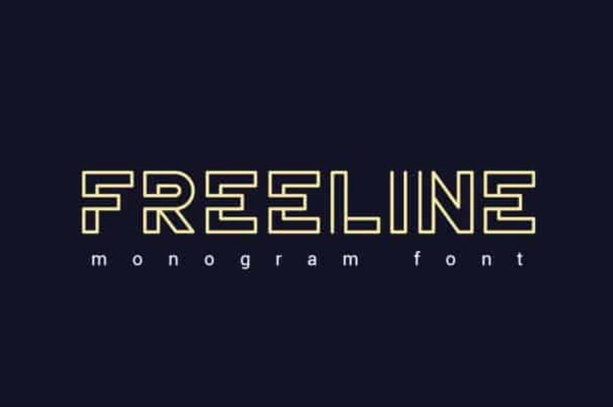 Tipografías para web: Freeline