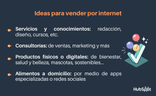 Ideas para vender por internet