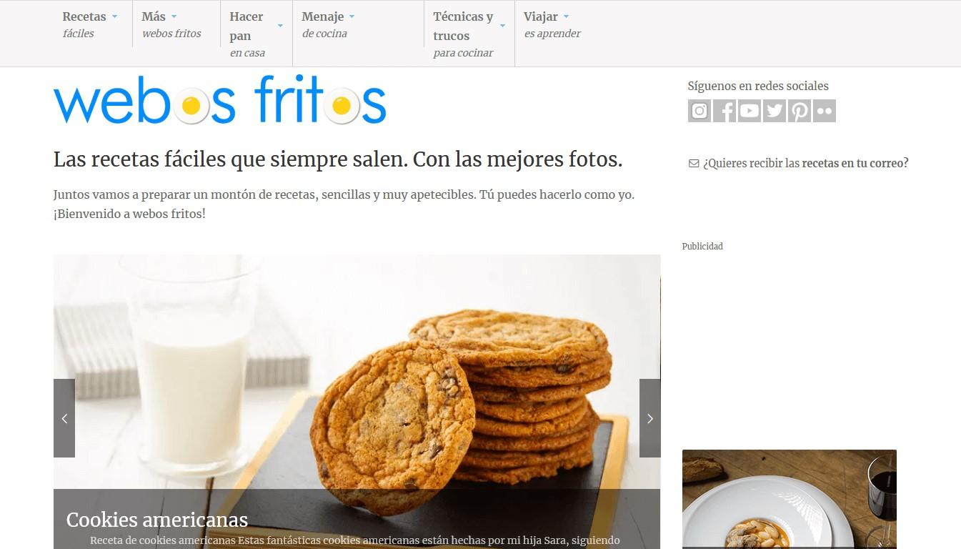 Nombre creativo de blog: webosfritos