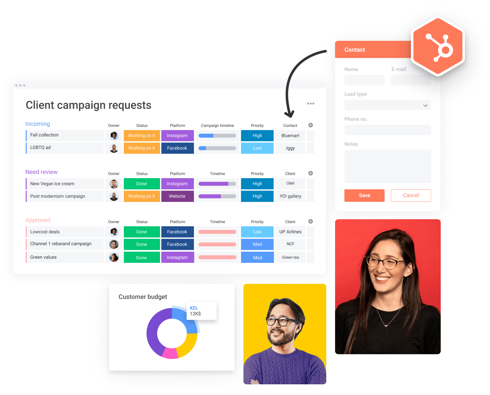 Managing Client Campaigns