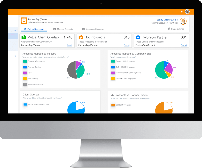 Channel sales partnership platform by PartnerTap Channel Insights
