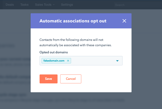Opt a Domain Out of Auto-Creation